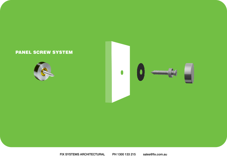 (panel screw system) S/S panel & sign fixings